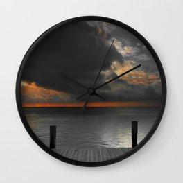 SunRise on Key Islamorada Wall Clock