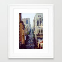 starbucks Framed Art Prints featuring Which Starbucks? by Phil Provencio
