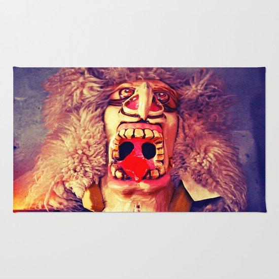 Stonegate mask Rug