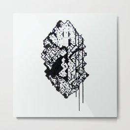The Grid II Metal Print