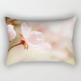 Cherry Blossom Flower Rectangular Pillow