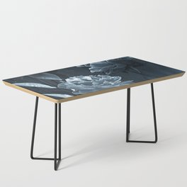 Blue Peonies Coffee Table