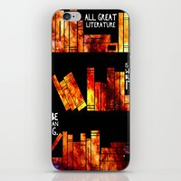literature iPhone & iPod Skins featuring all great literature by cipollakate