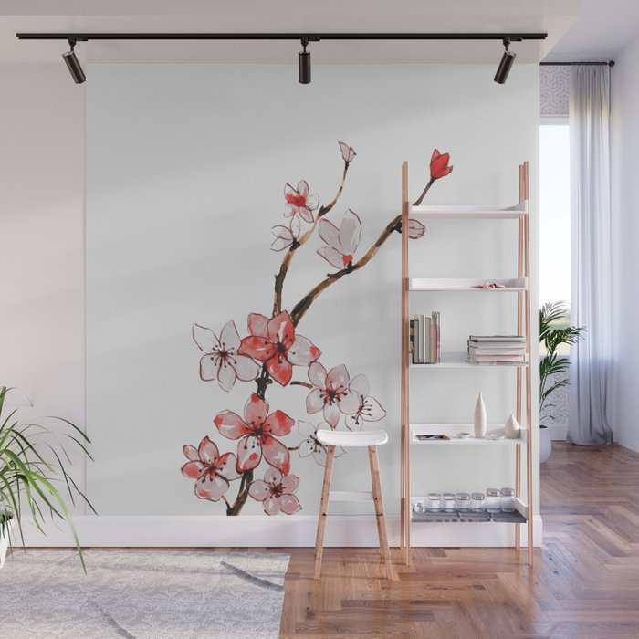 Cherry blossom 2 Wall Mural