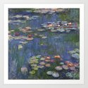Water Lilies - Claude Monet by maryedenoa