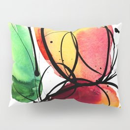 Ecstasy Bloom No.6 by Kathy Morton Stanion Pillow Sham