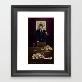 I. The Magician Framed Art Print