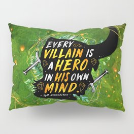 Every villain Pillow Sham