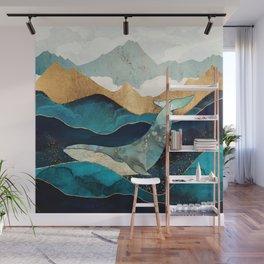 Blue Whale Wall Mural