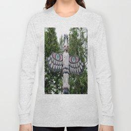 Alaskan Totem - Eagle Long Sleeve T-shirt