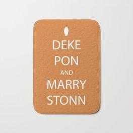 Deke Pon and Marry Stonn Bath Mat