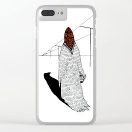 The Old Sorceress Clear iPhone Case