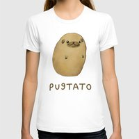 T-shirts featuring Pugtato by Sophie Corrigan