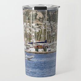 Bodrum Marina Turkey Travel Mug