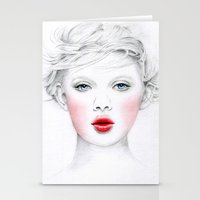 chill Stationery Cards featuring Chill by Miss L in Art