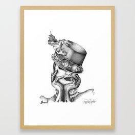 JARVIS Frog Prince Print Framed Art Print