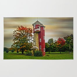 Autumn Water Tower Rug