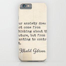 Khalil G. Lebanese writer quote 5 iPhone Case