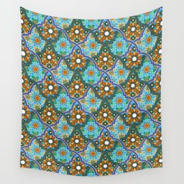 Moroccan pattern Wall Tapestry