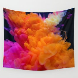 Colors Explosion Wall Tapestry