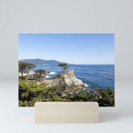 Gates Co-op Boat Houses located in Sausalito California Mini Art Print