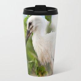 Orphaned one White Stork Travel Mug