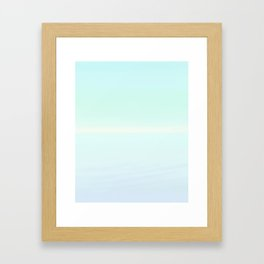 Serene Sea Framed Art Print