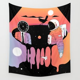 The Contemplation of Existence Wall Tapestry