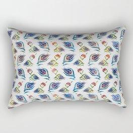 Turkish tulip - Ottoman tile pattern 1 Rectangular Pillow
