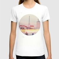 paris T-shirts featuring Paris by Emma.B
