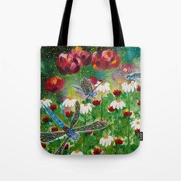 Dusk In The Garden Tote Bag