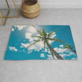 Best Summer Ever - Tropical Palm Trees Rug
