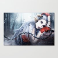 2ne1 Canvas Prints featuring Asmociel Cl of 2ne1 by LC_Korim