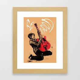 Johnny B. Goode Framed Art Print
