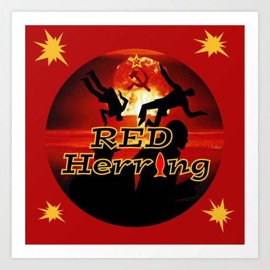 Red Herring - The Spies Who Loved Me Not Art Print
