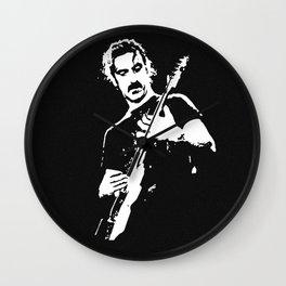 Zappa Guitar Wall Clock