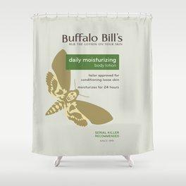 Buffalo Bil's Body Lotion Shower Curtain