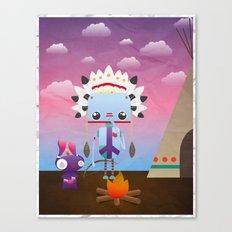 Native Bot Canvas Print