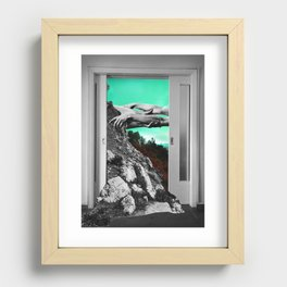 The Magnetic Field Recessed Framed Print