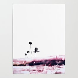 Palm 04 (Pink) Poster