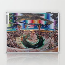 Come, walk with me. Let faith be all you need. Laptop & iPad Skin