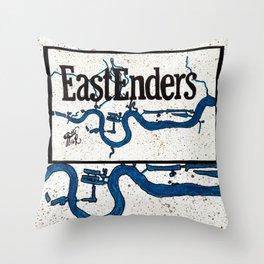 EastEnder River Throw Pillow
