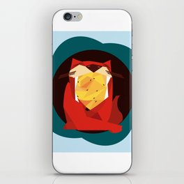 cat&birds iPhone Skin