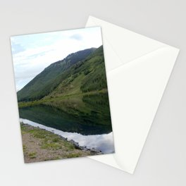 Symmetry and Serenity on Crystal Lake Stationery Cards
