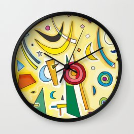 Abstract Composition 2 Wall Clock