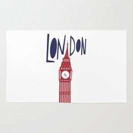 London - Big Ben Rug