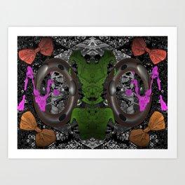 "'Micro-spacial Bows"" Art Print"