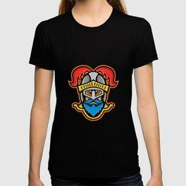 Knight Head Front Mascot T-shirt