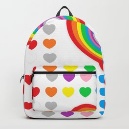 Colorful Graphic Loves - Rainbow Loves Backpack