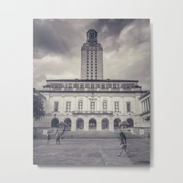 university of texas main building and tower Metal Print